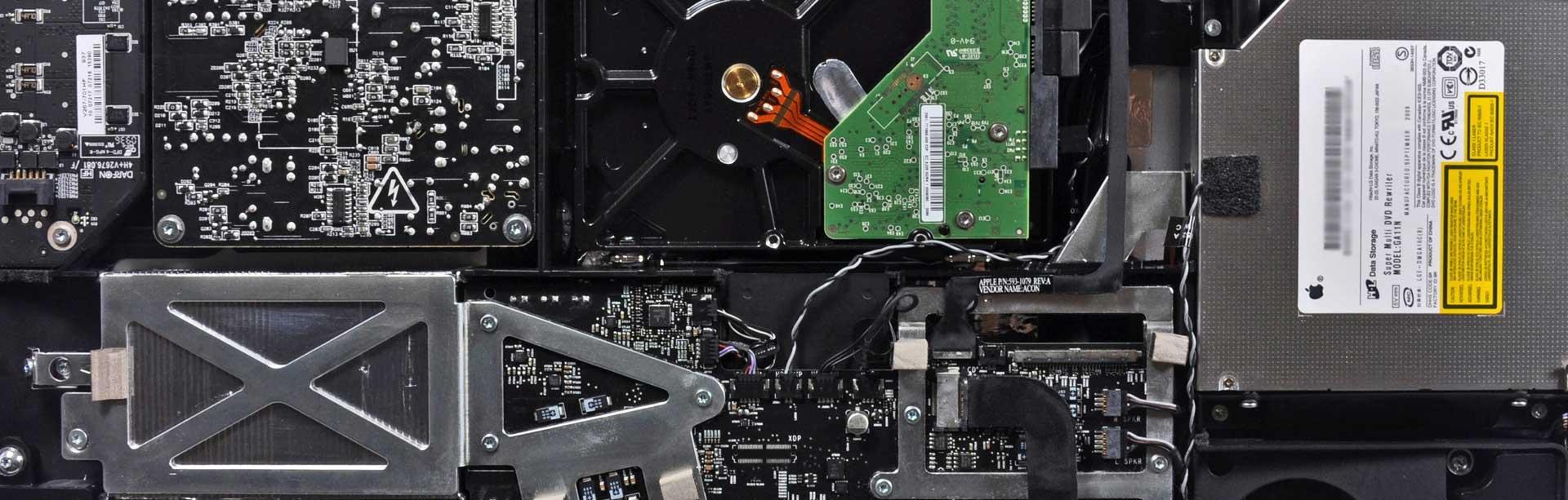 Reparación de iMac. Servicio técnico Apple